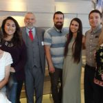 Tony Sawyer and Family