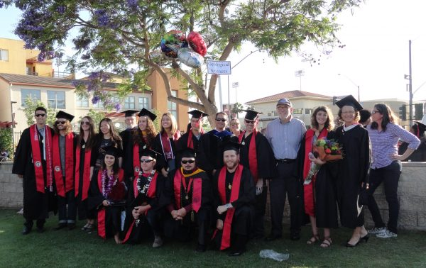After group shot Commencement 2017