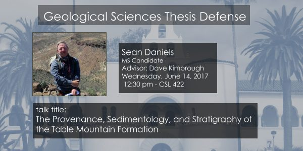 Thesis Defense – Sean Daniels MS