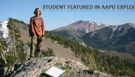 Student featured in AAPG Explorer