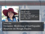 Thesis Defense – Qian Yao (PhD)