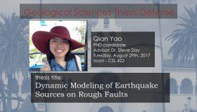 Thesis Defense – Qian Yao (PhD)
