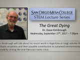 Dave Kimbrough gives talk at Mesa College
