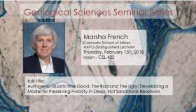 Seminar – Marsha French