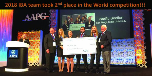 IBA team places 2nd in World Competition!
