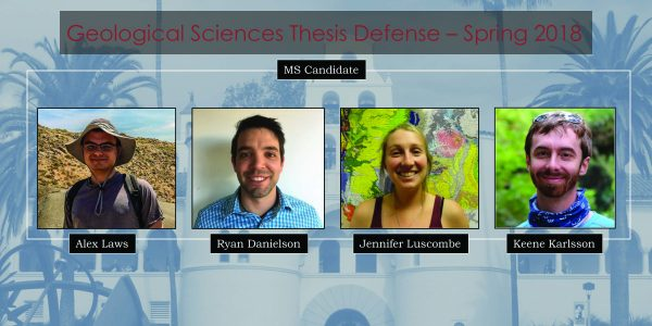 MS Thesis Defense – Spring 2018