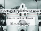 Geochemistry Job Posting