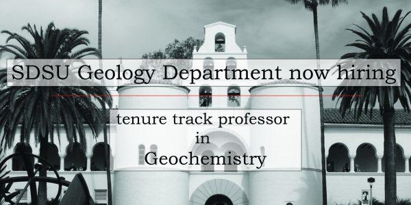 Geochemistry Job Posting