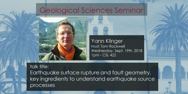 Seminar – Yann Klinger