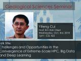 Seminar – Yifeng Cui