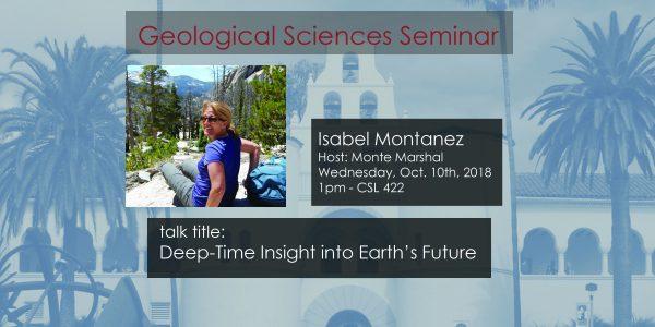 Seminar – Isabel Montanez