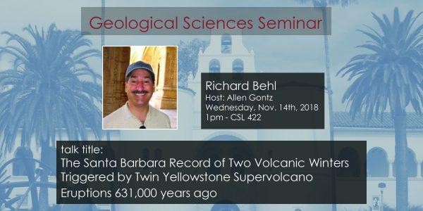 Seminar – Richard Behl