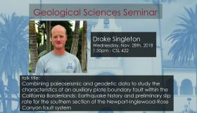Seminar – Drake Singleton