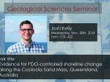Seminar – Josh Kelly