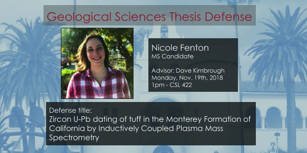 Thesis Defense – Nicole Fenton (MS)