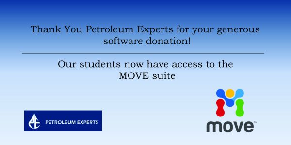 Software Donation – Petroleum Experts