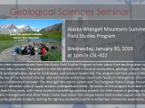 The Alaska Wrangell Mountains Summer Field Studies Program