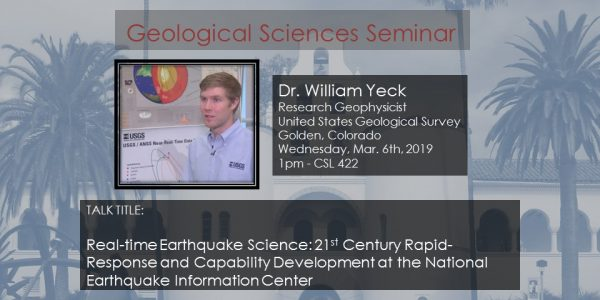 Dr. William Yeck (USGS)