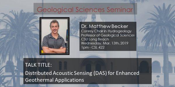 Seminar-Dr. Matthew Becker