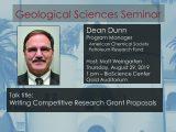 Seminar – Dean Dunn