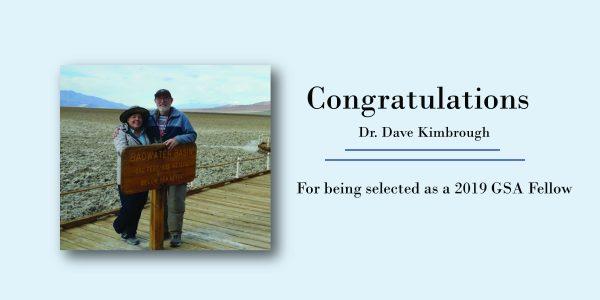 Dave Kimbrough selected as a GSA Fellow