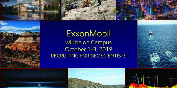 Don't Forget – ExxonMobil Recruiting Event OCT 1st-3rd!