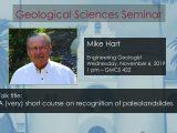 Seminar – Mike Hart
