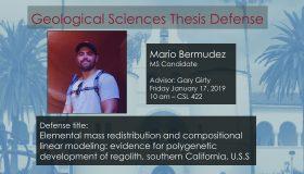 Thesis Defense – Mario Bermudez (MS)