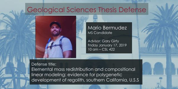 Thesis Defense – Mario Bermudez (MS)