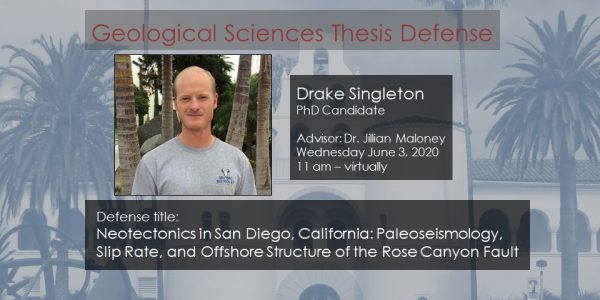 Thesis Defense – Drake Singleton (PhD)