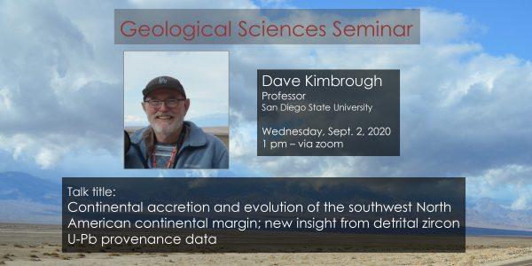 Seminar – Dave Kimbrough