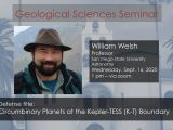 Seminar – William Welsh