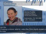 Seminar – Anna Foster