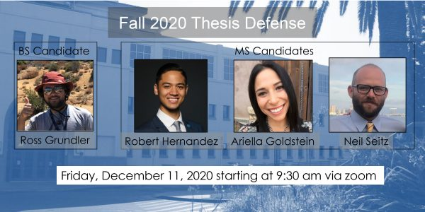 Fall 2020 Thesis Defense