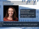 Seminar – Sarah Evans