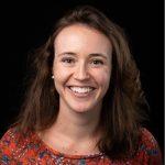 Sarah Evans smiling