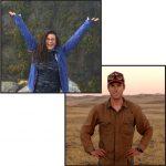 head shots of Xiomara Rosenblatt and Hugh McManus