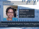Seminar – Melissa Sims