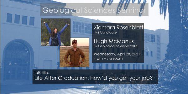 Seminar – Xiomara Rosenblatt and Hugh McManus