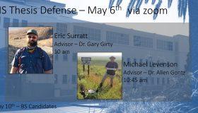 Spring 2021 MS Defense